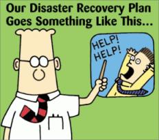 Dilbert security plan